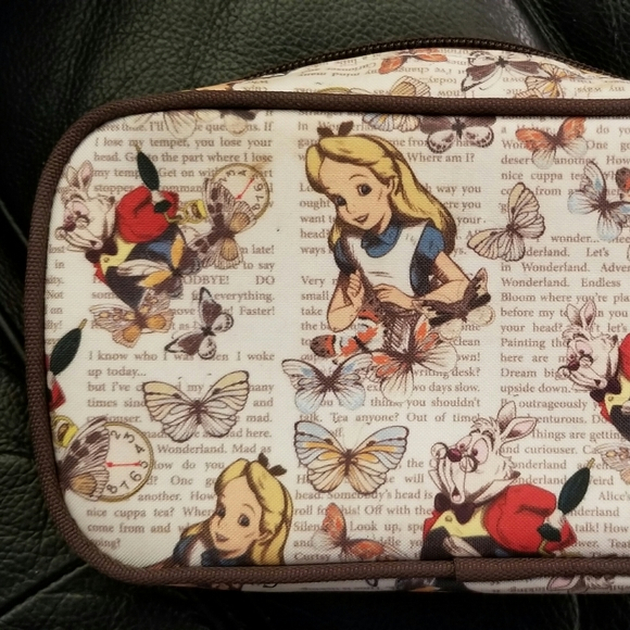 Loungefly Other - Disney Loungefly Alice in Wonderland Makeup Bags